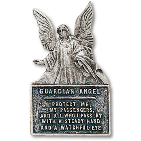 Guardian Angel Plaque Visor Clip