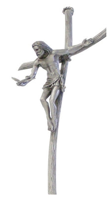 """Gift of the Spirit"" Pewter Crucifix 8"""