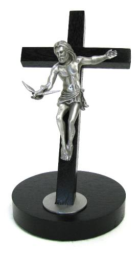 """Gift of the Spirit"" Crucifix with Base 8"""