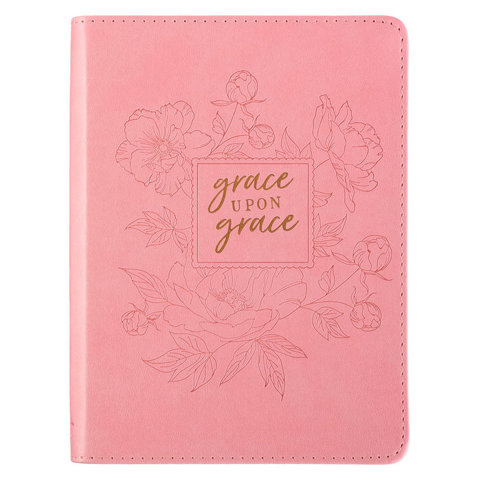 Grace Upon Grace LuxLeather Journal