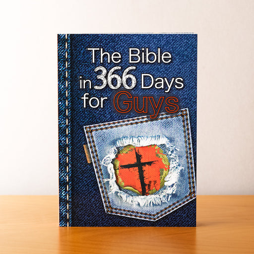 The Bible in 366 Days for Guys Devotional