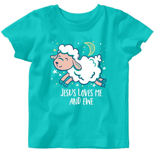 Jesus Loves Me & Ewe Baby T-Shirt