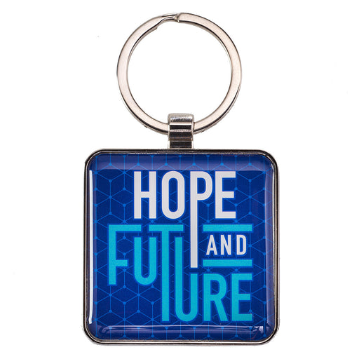 Hope and Future Jeremiah 29:11 Keychain