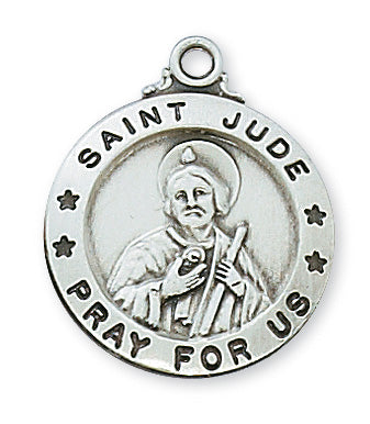 Sterling Silver St. Jude Medal