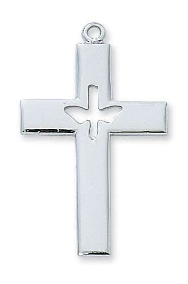 Sterling Silver Cross w/Dove