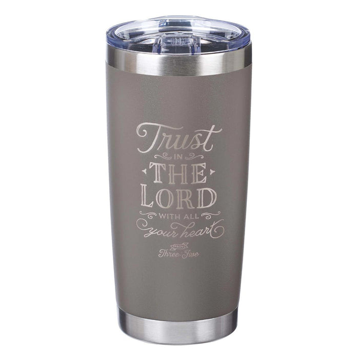 Trust In The Lord Stainless Steel Travel Mug