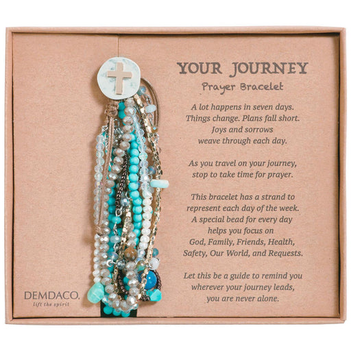 Your Journey Prayer Bracelet (Turquoise)