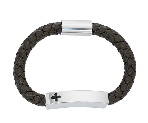 Boy's Cross Magnetic Bracelet