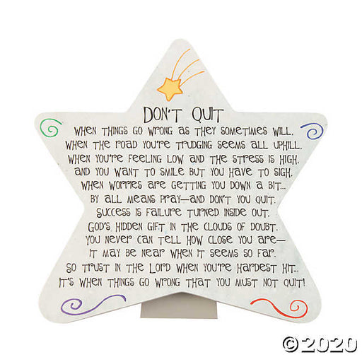 Don't Quit Star