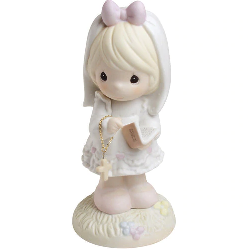 This Day Has Been Made in Heaven First Communion Precious Moments Figurine