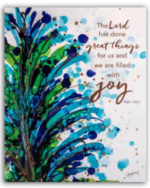 The Lord has Done Great Things Plaque 8x10