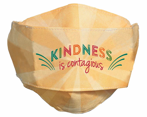 "Kindness is Contagious ""Easy Breather"" Face Mask"