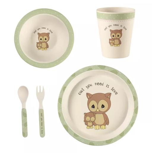 Precious Moments Mealtime Gift Set - Set of 5