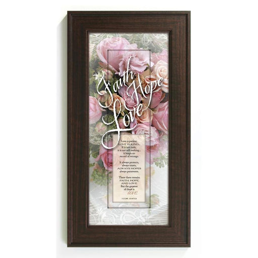Faith Hope Love Frame
