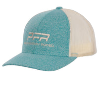 PFR Heather Teal with Tan mesh