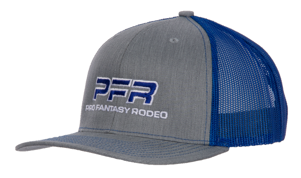 PFR Heather Gray/Blue Mesh