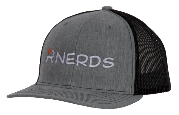 Rnerds Heather Gray and Black