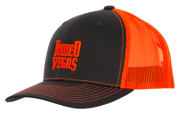 Rodeo Vegas Hot Orange
