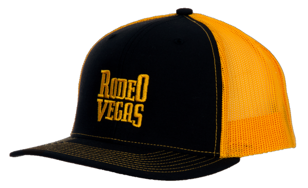 Rodeo Vegas Black and Gold