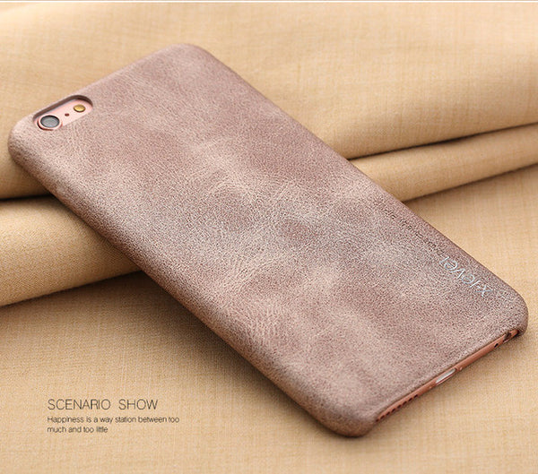 iPhone 6 & 6s Smooth Vintage Leather Back Case
