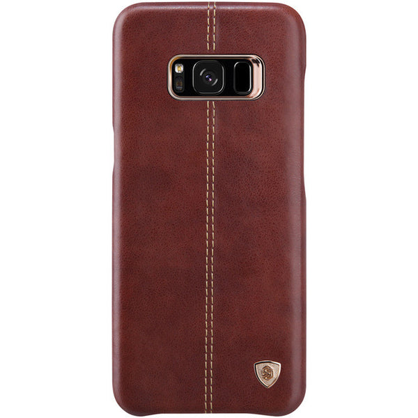 Samsung S8 & S8 Plus Vintage Leather w/ Magnetic Card Holder Case