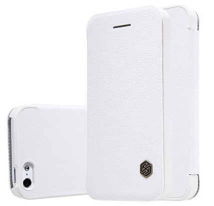 iPhone 5/6/7 Leather Wallet Flip Case