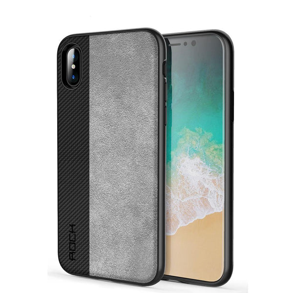 iPhone X Elegant PU Leather Phone Case