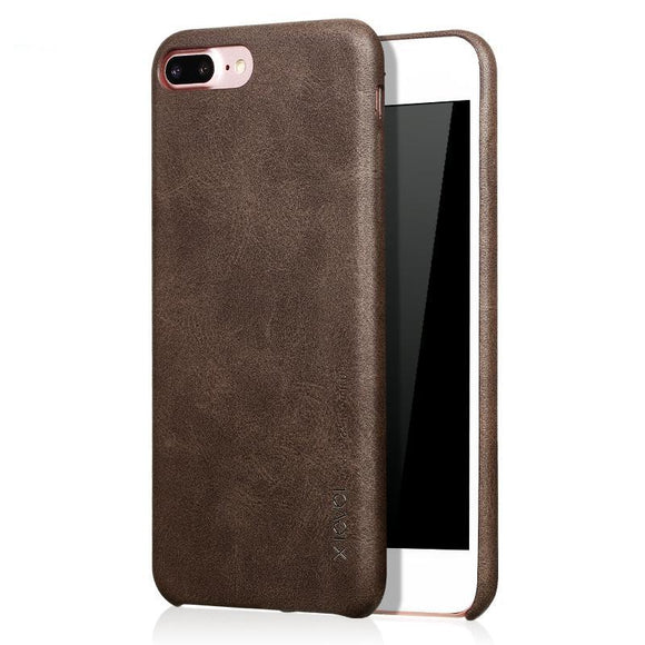 iPhone 8 & 8 Plus Case Smooth Vintage Leather