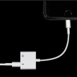 2 In 1 Aux Adapter For iPhone