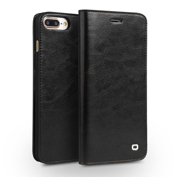 iPhone 7 & 7 Plus Case Genuine Leather Wallet