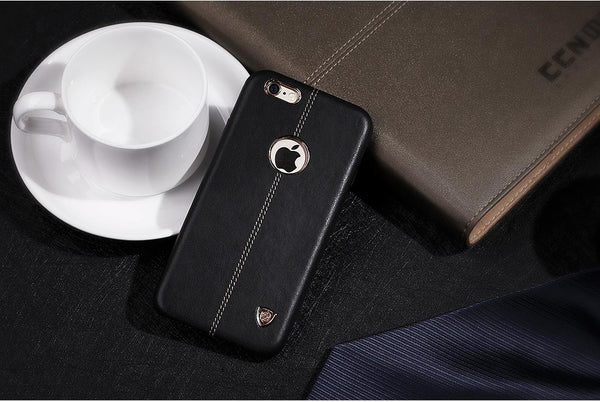 iPhone 8/8 Plus Vintage Leather w/ Magnetic Card Holder Case