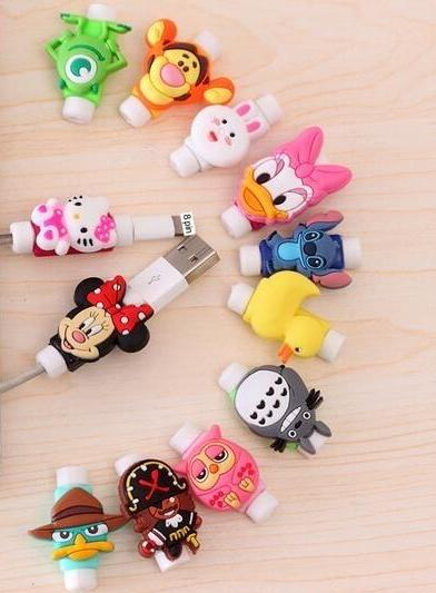 Cartoon Protector Cable Cord