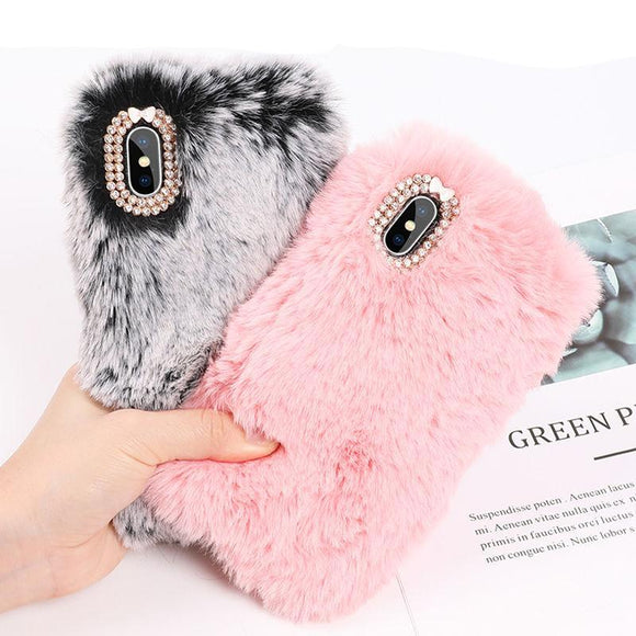 iPhone Case Lovely Cute Fur