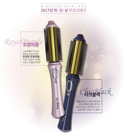 SS shiny Smart Queen Wireless Styler 專業版2.0 第三代無線捲髮棒