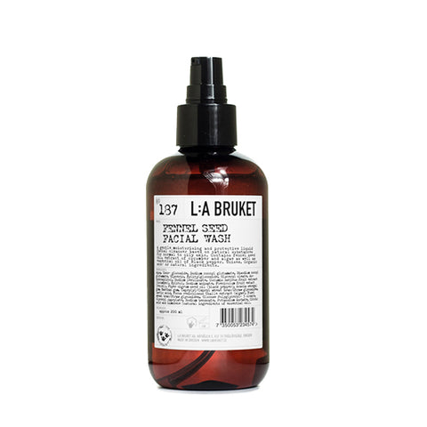 LA:BRUKET 187 FENNEL SEED FACIAL WASH 潔面