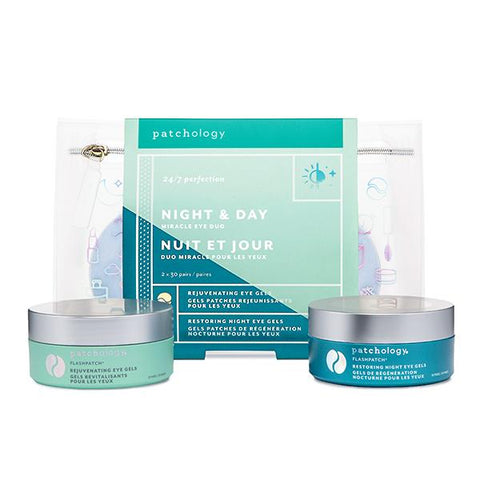 PATCHOLOGY - NIGHT & DAY MIRACLE EYE DUO - 5 MINUTE EYE GEL KIT 「5分鐘」啫喱眼膜套裝