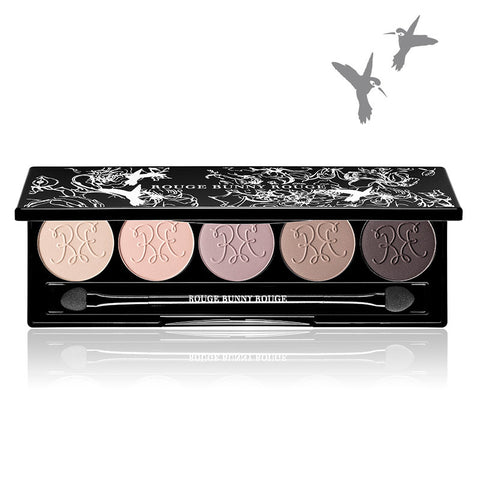 ROUGE BUNNY ROUGE RAW GARDEN (EYE SHADOW PALETTE – MATT SELECTION) 持久啞光眼影調色盆