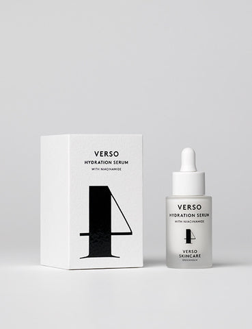 VERSO N°4 HYDRATION SERUM - 燕麥保濕精華