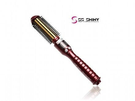 SS shiny Volume Queen Styler (4合1捲髮棒)-紅色 -  - 1