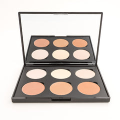 6 WELL CONTOUR POWDER PALLET