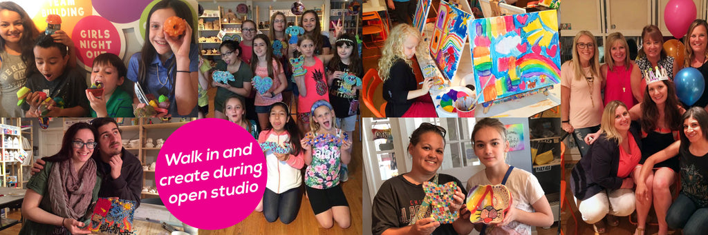 creative art studio walk-in hours downtown naperville il