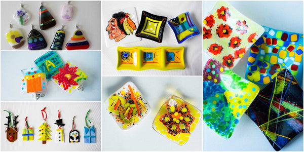 fused glass making near me