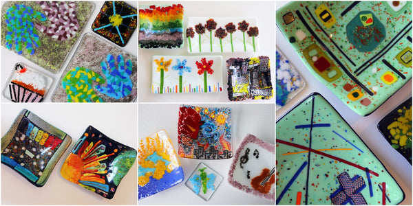learn to make fused glass