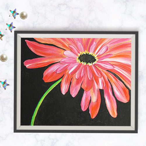 Blushing Daisy Painting
