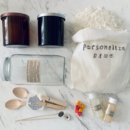 Soy Candle Making DIY Kit - Date Night Special