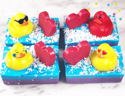 Emoji Duckies Soap Making Kit