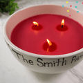 Happy Candle Bowl