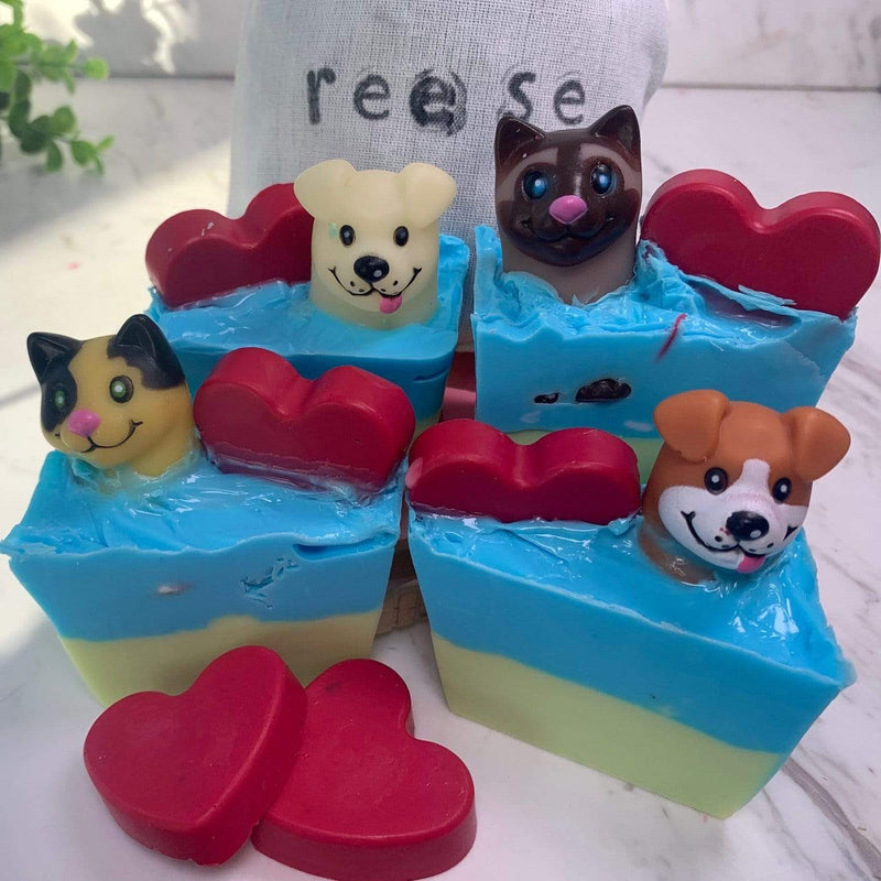 It's Raining Dogs and Cats Soap Making Kit