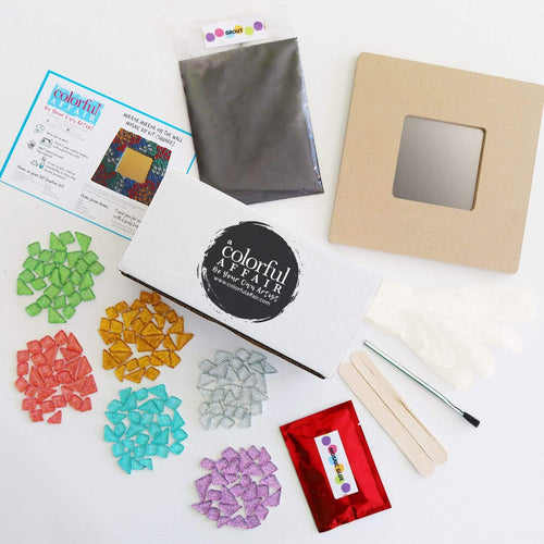 Mirror Mirror on the Wall Mosaic Kit (Square)