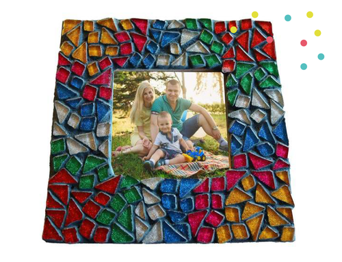 Mosaics Picture Frame Kit Square